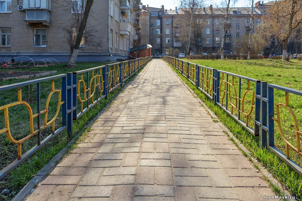 Жуковский тротуар