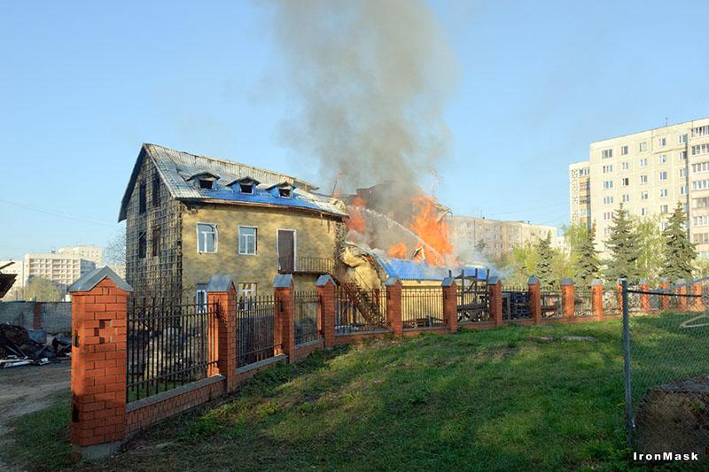 Пожар в Жуковском
